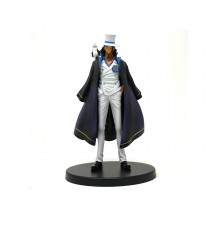 Figurine One Piece Stampede - Rob Lucci DXF Grandline Men Vol 7 17cm