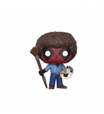 Boite Abimée - Figurine Marvel - Deadpool Parody Bob Ross Pop 10cm