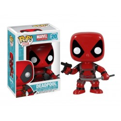 Boite Abimée - Figurine Marvel - DeadPool Pop 10cm