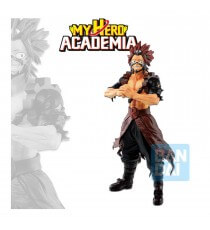 Figurine My Hero Academia - Eijiro Kirishima Ichibansho Fighting Heroes Feat Ones Justice 24cm