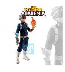 Figurine My Hero Academia - Shoto Todoroki Ichibansho Fighting Heroes Feat Ones Justice 24cm