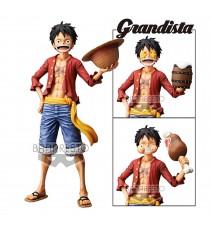 Figurine One Piece - Monkey D Luffy Grandista Nero 28cm