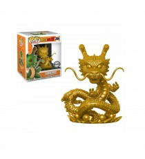 Boite Abimée Figurine Dragon Ball Z - Shenron Gold Oversized Exclu Pop 15cm