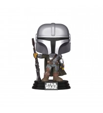 Figurine Star Wars Mandalorian - The Mandalorian With Gun Pop 10cm