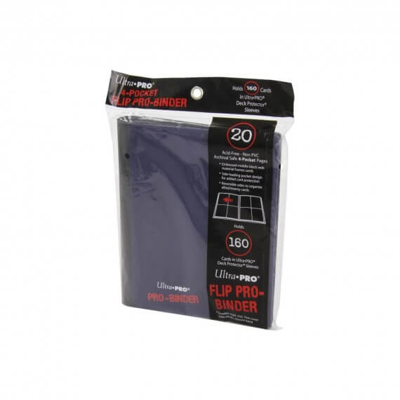 Ultra Pro - Portfolio A5 Violet pour 160 cartes
