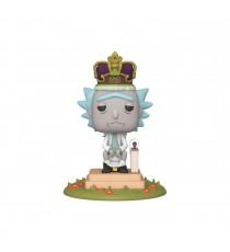 Figurine Rick & Morty - Rick On Throne King Of Sh!t Pop 10cm