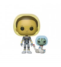 Figurine Rick & Morty - Space Suit Morty With Snake Pop 10cm