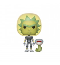 Figurine Rick & Morty - Space Suit Rick With Snake Pop 10cm