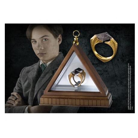 Réplique Harry Potter - Bague des Gaunt avec présentoir
