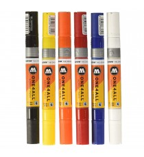 Set 6 Marqueurs Acrylic Marker One4All Twin 01