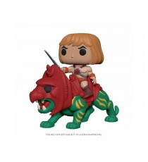 Figurine Les Maitres de l'Univers - He-Man On Battle Cat Pop Rides 10cm