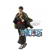 Figurine One Piece - Dracule Mihawk Treasure Cruise World Journey Vol 3 20cm