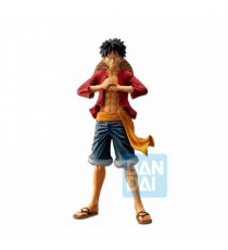 Figurine One Piece - Ichibansho Bonds Of Brothers Monkey D Luffy 28cm