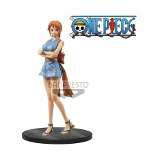 Figurine One Piece - Nami Grandline Men Wanokuni Vol 6 15cm