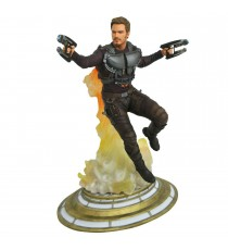 Statue Guardians of the Galaxy - Star Lord Unmasked Gallery 23cm