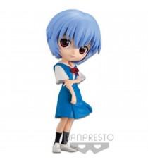 Figurine Evangelion - Rei Ayanami Color A Q Posket 14cm
