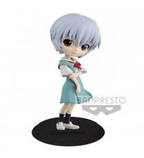 Figurine Evangelion - Rei Ayanami Color B Q Posket 14cm