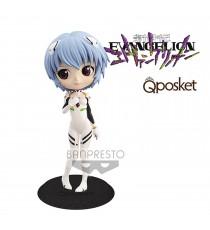 Figurine Evangelion - Rei Ayanami Plugsuit Style Ver B QPosket 14cm