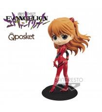 Figurine Evangelion - Asuka Shikinami Langley Plugsuit Style Ver B QPosket 14cm