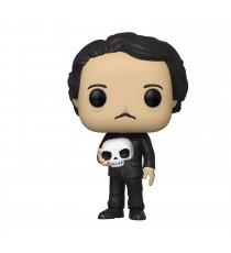 Figurine Icons - Edgar Allan Poe With Skull Pop 10cm