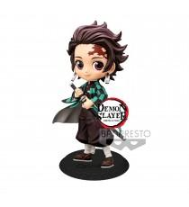 Figurine Demon Slayer Kimetsu No Yaiba - Tanjiro Kamado Ver A Q Posket 14cm