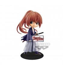 Figurine Ruroni Kenshin - Battousai Himura Ver B Q Posket 14cm