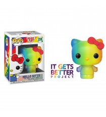 Figurine Hello Kitty - Hello Kitty Rainbow Pop 10cm
