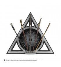 Présentoir Harry Potter Les Animaux Fantastiques - Reliques de la Mort + 5 Baguettes Magiques