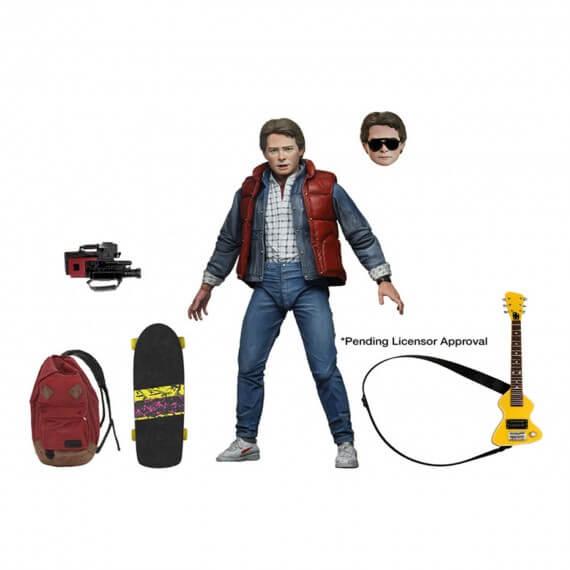Figurine Retour vers le Futur - Ultimate Marty Mcfly 18cm