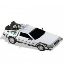 Figurine Retour vers le Futur - Replique Delorean 15cm