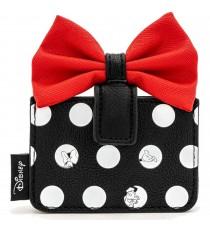 Porte Carte Disney - Minnie Polka Noeud Rouge