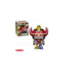 Boite Abimée - Figurine Power Rangers - Megazord Metallic Version Exclu Pop 15cm
