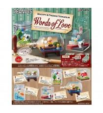 Set De 6 Boites Snoopy - Words Of Love 8cm