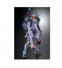 Figurine Evangelion - Eva-01 Test Type Metallic Metal Build 22cm