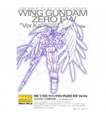 Maquette Gundam - Ver Ka Wing Gundam Zero Ew Gunpla MG 1/100 18cm