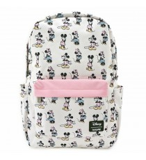 Mini Sac A Dos Disney - Minnie Mickey Pastel