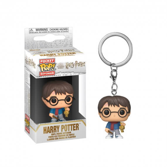 Porte Clé Harry Potter - Harry Holiday Pocket Pop 4cm