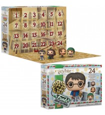 Calendrier De L'Avent Harry Potter Pocket Pop Version 2 Edition Limitée 24pcs
