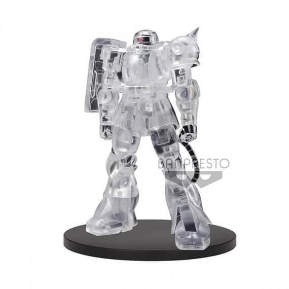 Figurine Gundam - Ms-06F Zaku II Full Clear Ver B 14cm