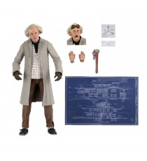 Figurine Retour vers le Futur - Ultimate Doc Brown 18cm
