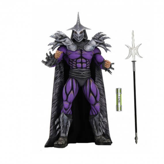Figurine TMNT Movie 1990 - Deluxe Super Shredder 20cm