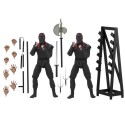 Figurine TMNT Movie 1990 - 2-Pack Foot Soldier With Weapons Rack 18cm