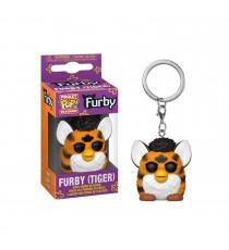 Porte Clé Hasbro Retro Toys - Tiger Furby Pocket Pop 4cm