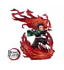 Figurine Demon Slayer Kimetsu No Yaiba - Tanjiro Kamado Hinokami Kagura Figuarts Zero 21cm