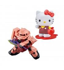 Maquette Gundam - Hello Kitty Ms-06S Chars Zaku II Gunpla SD Cross Silhouette 8cm