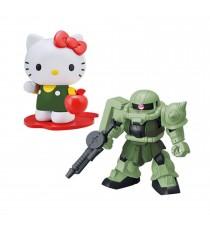 Maquette Gundam - Hello Kitty Zaku II Gunpla SD Cross Silhouette 8cm