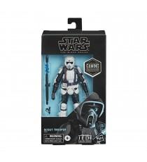 Figurine Star Wars Jedi Fallen Order - Scout Trooper Black Series Gaming Greats 15cm