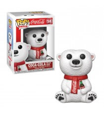 Figurine Icons Coca Cola - Polar Bear Pop 10cm