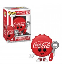 Figurine Icons Coca Cola - Bottle Cap Pop 10cm