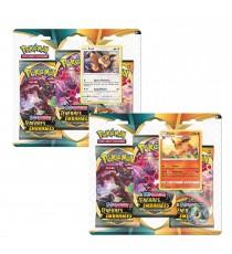 Pokemon - Pack 3 Boosters Epée et Bouclier Ténèbres Embrasées